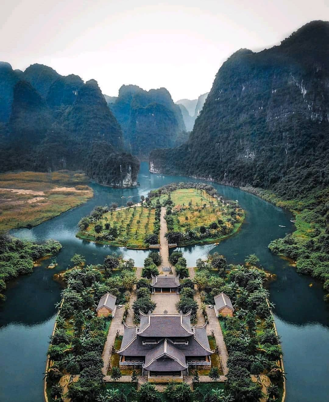 Image result for check in tràng an